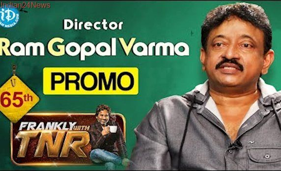 Director Ram Gopal Varma Interview - Promo || Frankly With TNR #65 || Talking Movies With iDream