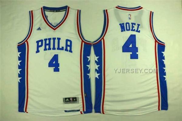 http://www.yjersey.com/nba-76ers-4-nerlens-noel-white-swingman-jersey.html #NBA #76ERS 4 NERLENS NOEL WHITE SWINGMAN JERSEYOnly$34.00  Free Shipping!