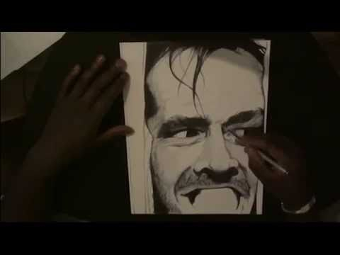 Pen Drawing Of Jack Torrance - The Shining - Freehand Art Thank you for watching.