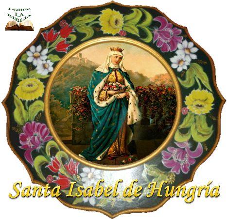 Leamos la BIBLIA: Santa Isabel de Hungría