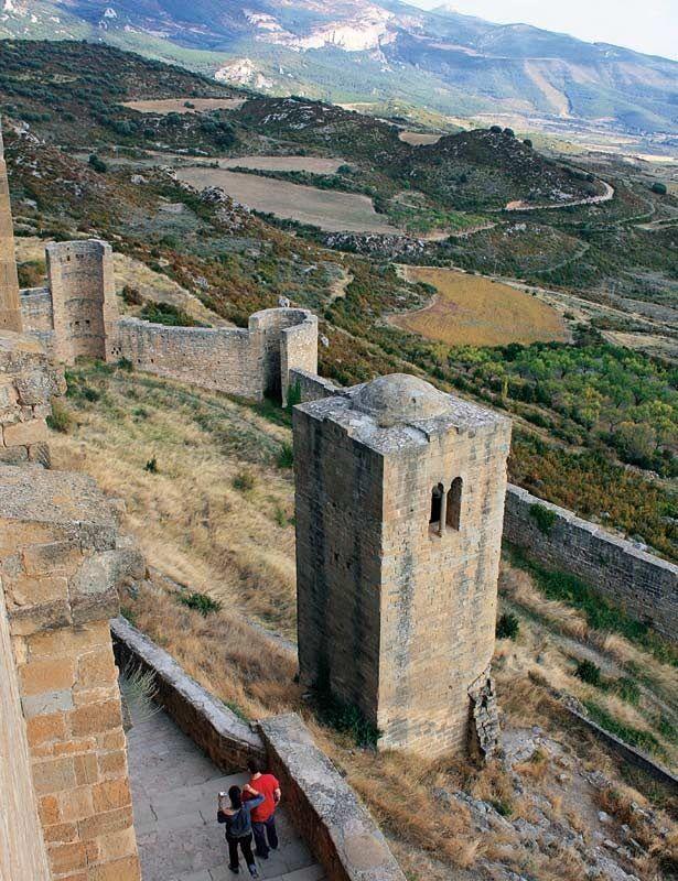 Castillo románico de Loarre (Huesca)