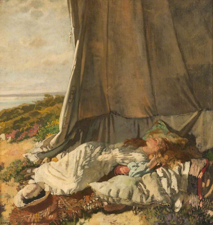 Afternoon Sleep (Sir William Orpen,)