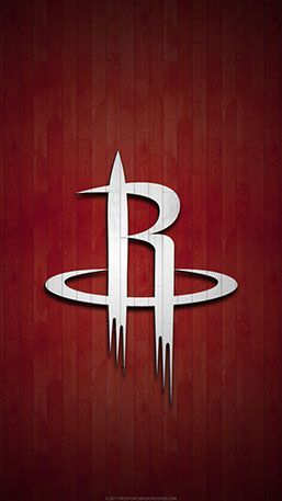 e05bc029b Houston Rockets Mo bile hardwood Logo Wallpaper v1