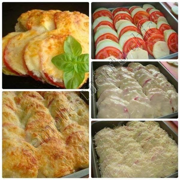 Semplicemente Chic: Pasticcio con mozzarella e pomodoro!