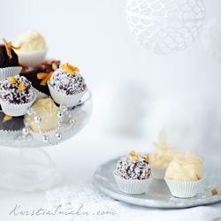 Pralinki czekoladowe z serkiem mascarpone