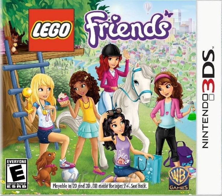 New Lego Friends Nintendo 3DS by Warner Bros Games – SEE VIDEO