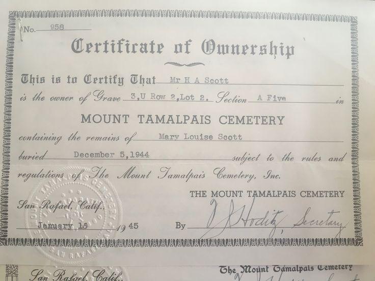 188 best Geneology - Scott Family History images on Pinterest - best of torrance ca birth certificate