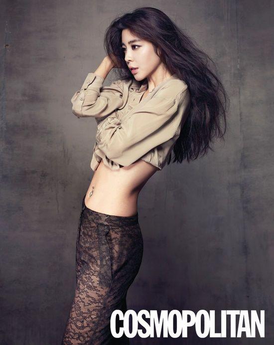 김규리, 차원이 다른 시스루 패션 도전! '팬츠 전체가…'