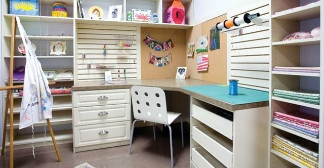 39 best Sewing & Craft Room Ideas images on Pinterest | Sewing rooms ...
