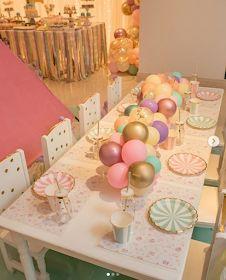 101 fiestas: Tips para decorar con globos los centros de mesa