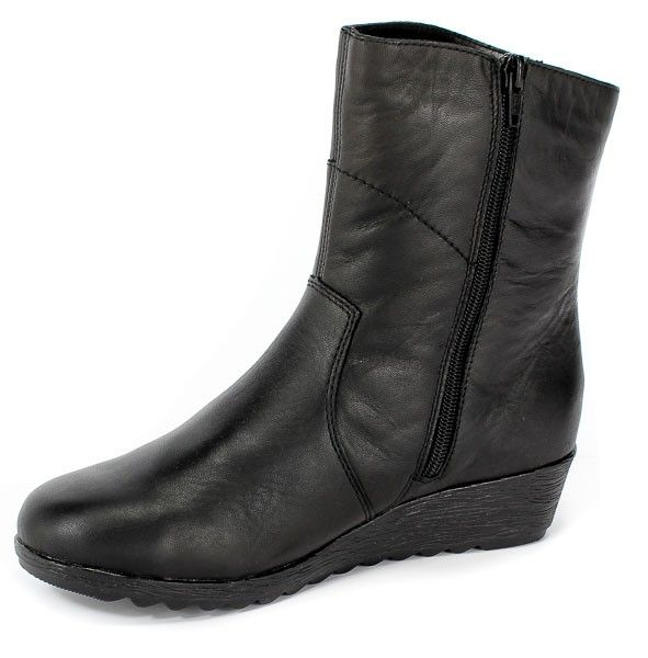 Trzewiki Rieker X2484 00 Black Rieker Black Boots
