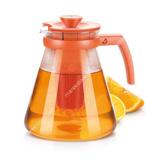 Szklany zaparzacz do herbaty i ziół z wyjmowanym sitkiem - pojemność 1,75 litra   Tescoma   52,00 zł