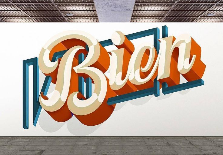 Love the shading style in this work by @_anibalgarcia - #typegang - free fonts at typegang.com | typegang.com #typegang #typography