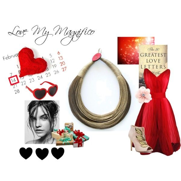 """Valentine's Day is My Maginifico"" by mymagnifico.com on Polyvore"
