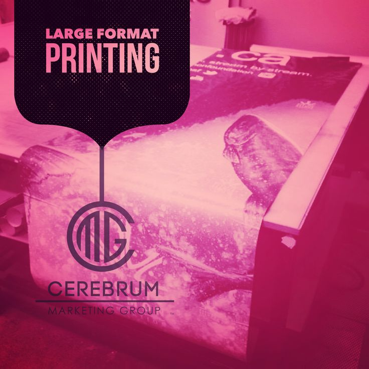 Looking to print something big? Contact us (link in bio) or place your questions in the comments below. Thanks! - CMG Friend Department ////////// #cerebrummarketinggroup #vancouver #production #print #ink #media #vinyl #creative