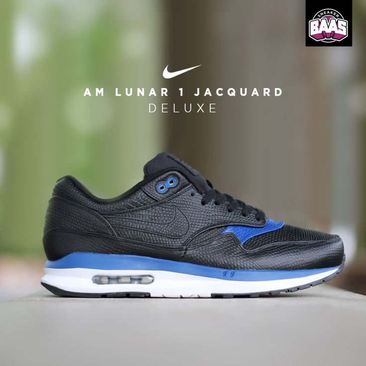"Nike AM Lunar 1 Jacquard ""Deluxe""   New Lunar Jacquard from Nike   www.sneakerbaas.nl   #Nike #Lunar #Jacquard #BaasBovenBaas"