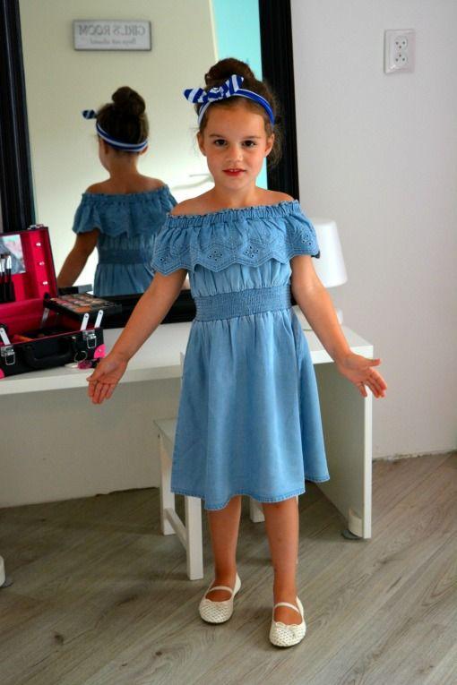 Kids Fashion - Off shoulder