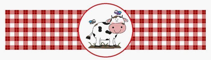 Her Anne Beceriklidir!: Çiftlik Hayvanları Temalı Doğum Günü Etiketleri