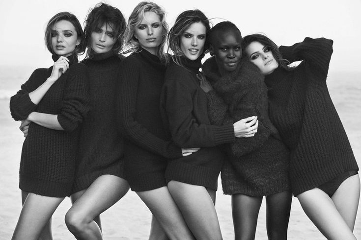 Pirelli Calendar 2014 Pictures - Miranda Kerr & Helena Christensen (Vogue.com UK)
