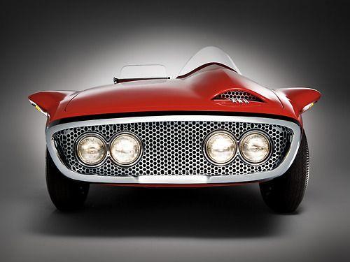 1960 #Plymouth XNR Concept Car