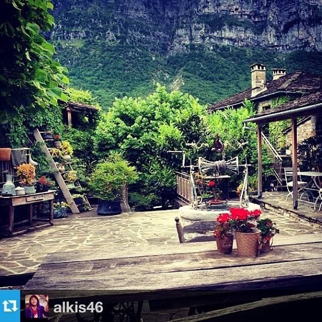 #Repost from @alkis46 ---The best place to take your breakfast #breakfast#best#place#morning#now#nature#pure#traditional#house#mountain#view#flowers#woods#wakeup#weekend#relax#instagram#now