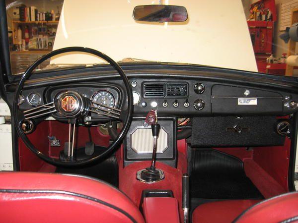 mgb interior mgb interior pinterest interiors cars and british car. Black Bedroom Furniture Sets. Home Design Ideas