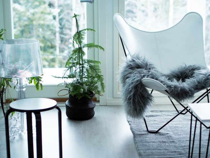 Whether you're wrapped up in your sheepskin by the fireplace on a cold winter's evening or enjoying a sunny day at the beach, you should live life comfortably. Inside or out, our Canvas Butterfly chairs are here to save the day.   Thanks to @valkoinenvuori for the great picture!