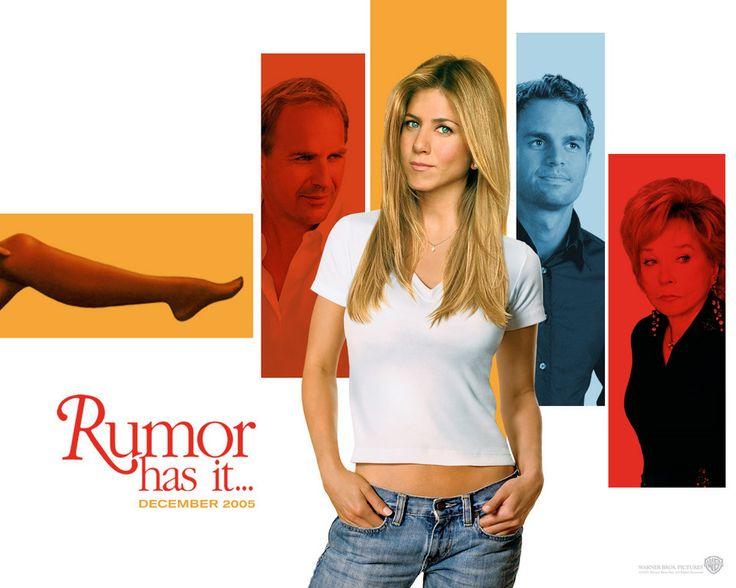 Rumor Has It... (Dicen Por Ahí... en español) es una película de comedia del 2005 dirigida por Rob Reiner. El guión de Ted Griffin se der...