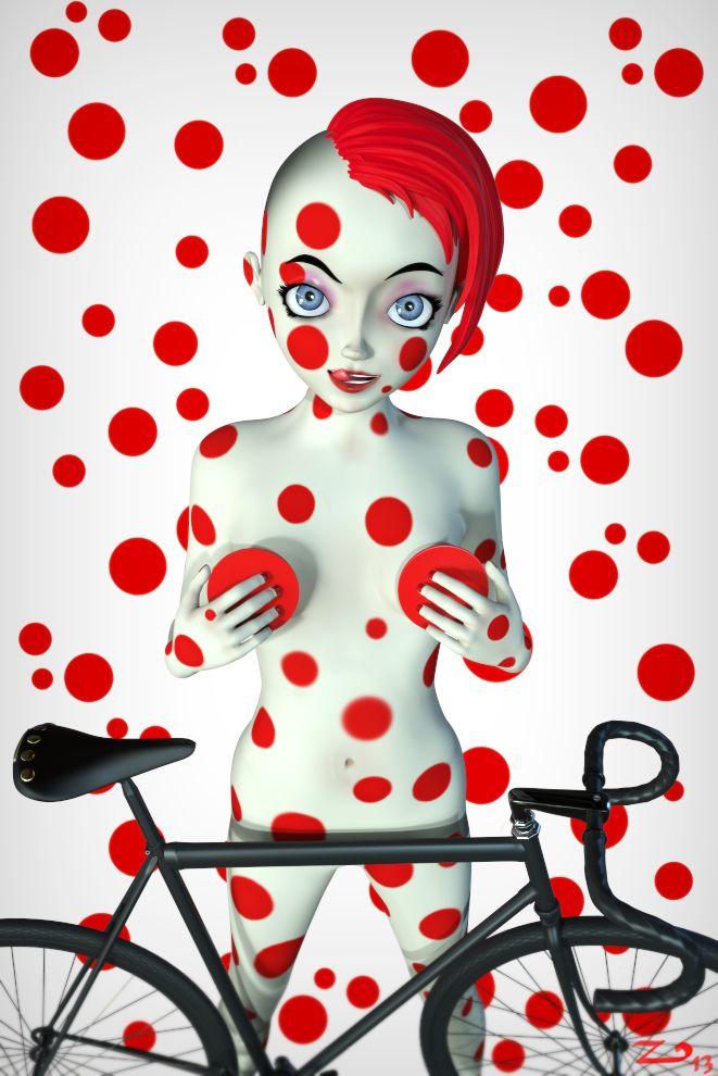 girl on bicycle #3