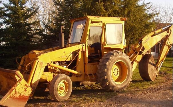 #Digger loader for ground work.