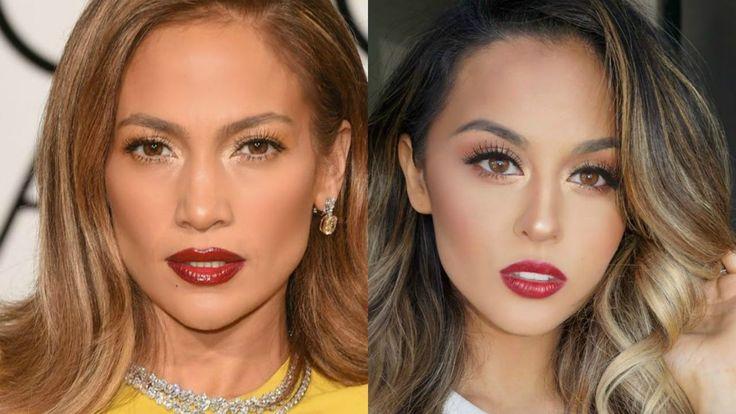 Fun Jlo Golden Globes Makeup Tutorial