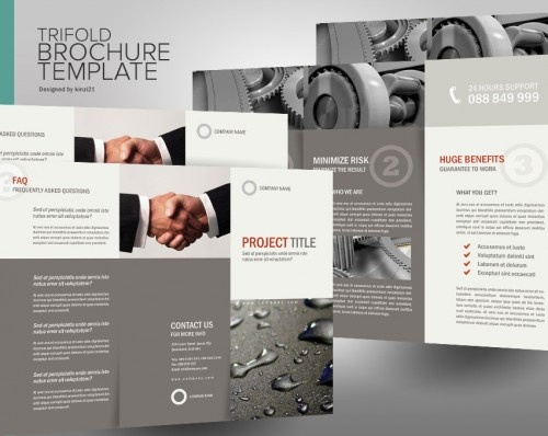 32 best Tri fold Brochures images on Pinterest Graphic prints - pamphlet layout