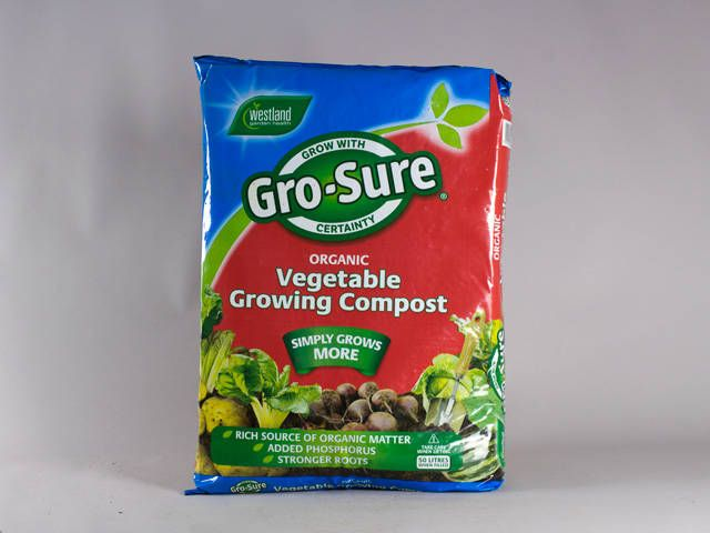 Gro-sure Vegetable Growing Compost 50L  #compost #soil #gardening