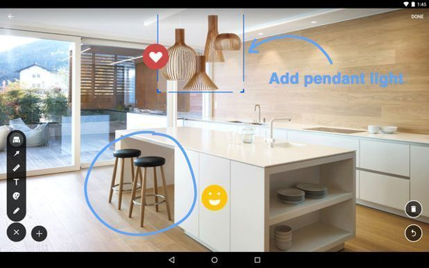 7 Augmented Reality Apps That Let You Visualize Home Improvements On Your Phone Techgadget Interior Design Popular Houzz