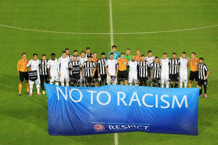 NO TO RACISM PAOK vs Fiorentina Europa League Group Stage Matchday 3