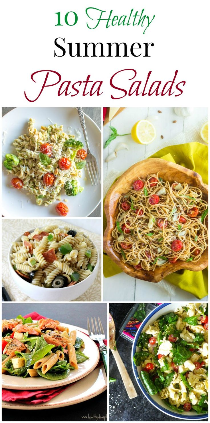 10 Healthy Summer Pasta Salads | Simply Fresh Dinners