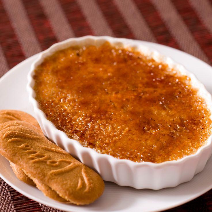 Découvrez la recette crème brûlée aux spéculos sur cuisineactuelle.fr.