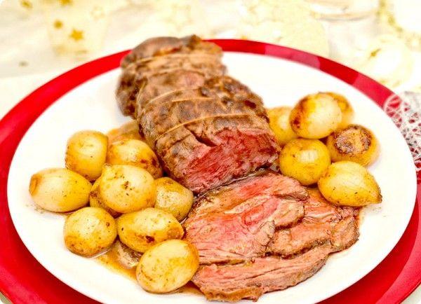 Roast Beef con cebollitas caramelizadas | Velocidad Cuchara
