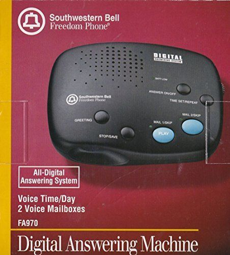 SOUTHWESTERN BELL FA-970 Digital Answering System with 2 Voice Mailboxes  //Price: $ & FREE Shipping //    #office #officelife #officeview #officeworks #myoffice #officegirl #officetime #officework