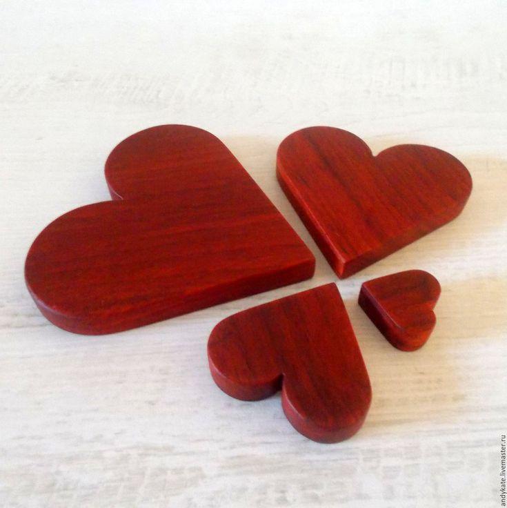 Купить Сердце интерьерное из падука - декор для интерьера, декор для дома…
