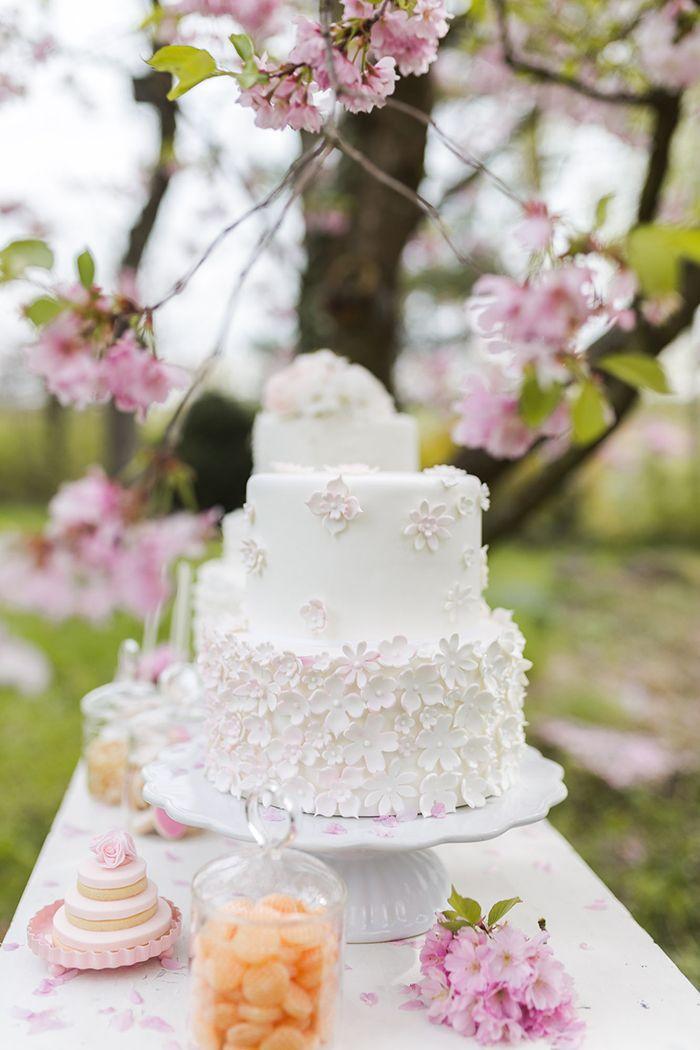Frühling und Kirschblüten: Sweet Table Inspirationen und 6 Tipps zum Selbermachen   Hochzeitsblog - The Little Wedding Corner