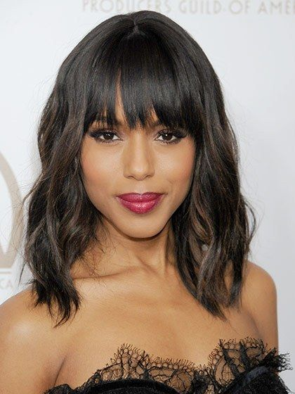 The All-Time Best Celebrity Bangs | Allure I love these bangs!