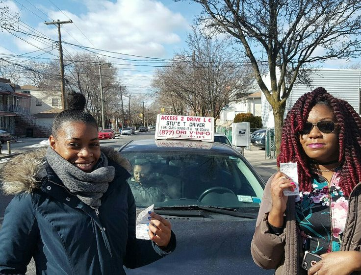 Samantha Rae and Shenella of #brooklyn #newyork both took our 6 lesson package.  Both are looking forward to #driving this spring.   #acess2Drive #drivingschool #learntodrive #welovewhatwedo #teamaccess  Www.access2drive.com