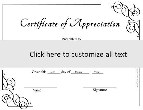 These Free Certificate Templates Can Be Used For Any Purpose. You Can  Customize The Text With Our Online Certificate Maker.  Certificate Maker Online Free
