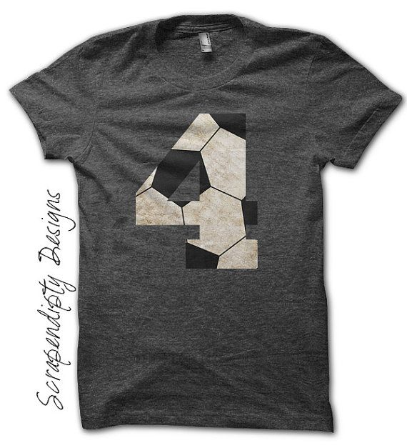 Soccer Number Iron on Transfer Iron on by ScrapendipityDesigns