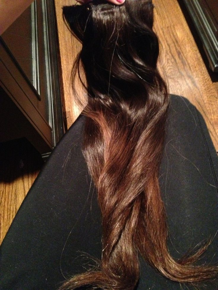 How To Dye Your Human Hair Extensions Ombre at Home DIY ...