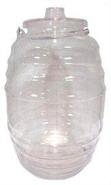 Picture of Aguas Frescas Vitrolero de plastico / Plastic Water container 5.25 gal - 20 lts.- Item No.50409-87319
