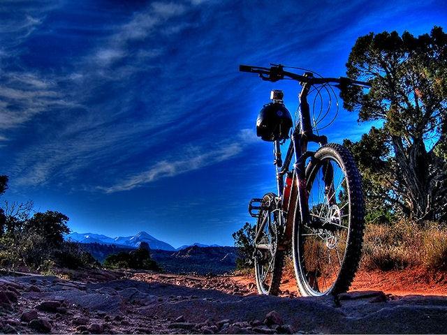 Porcupine Rim Trail - Moab Utah