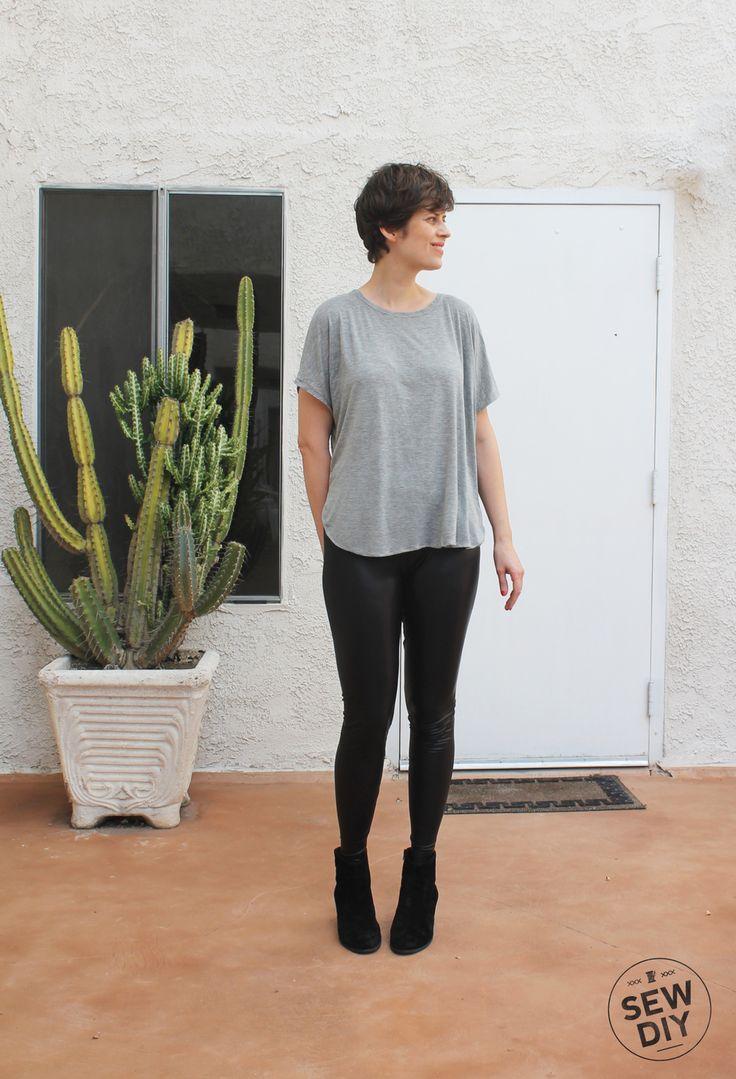 DIY Vegan Leather Leggings — Sew DIY
