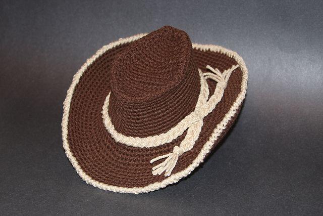 crochet cowboy hat free pattern